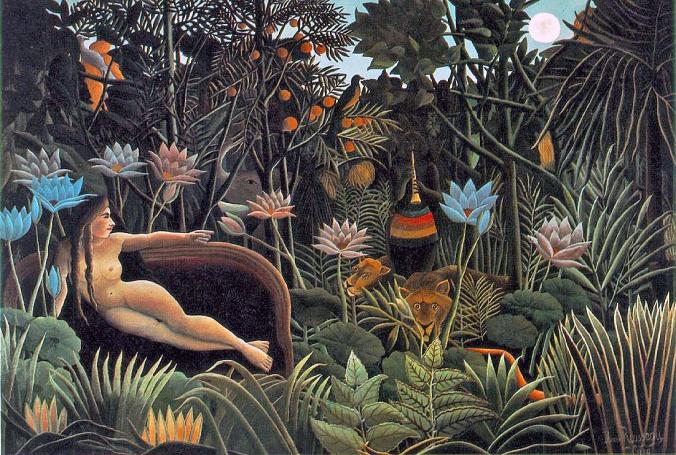Rousseau's The Dream