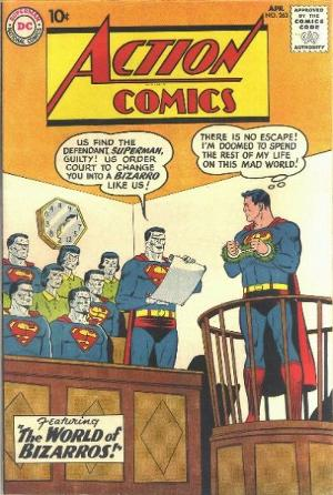 Action Comics 263 Bizarro World