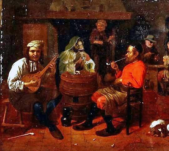 Jesus -Tavern-Interior-With-Mandolin-Player