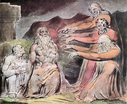 """Job"" by William Blake"