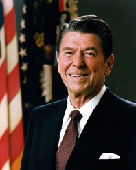 Reagan in 1981