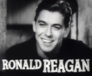 Reagan in 1938