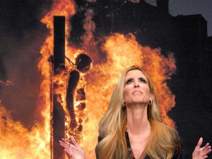 Ann Coulter enjoying some good old-fashioned fun