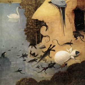 Hieronymus Bosch - Triptych of Garden of Earthly Delights _detail 13_