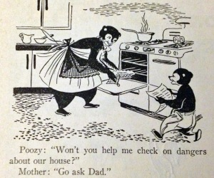 a cartoon from a '50's edition of Highlights for Children magazine
