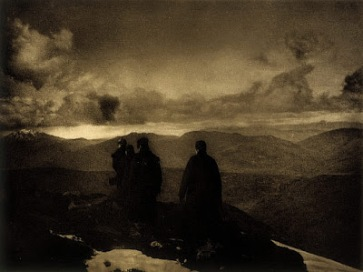 """The Dark Mountains"" by James Craig Annan (1864 - 1946)"