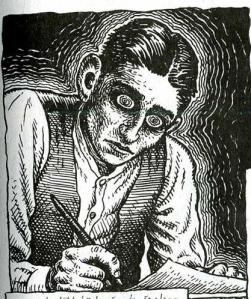 Robert Crumb's rendering of Kafka