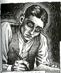 Robert Crumb's rendering of Kafka