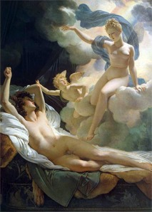 Morpheus and Iris, by Pierre-Narcisse Guérin, 1811