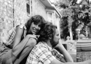 Judy and Me at our first house in Rantowles