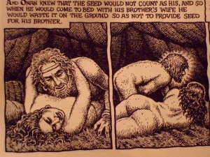 from Robert Crumb's graphic bible
