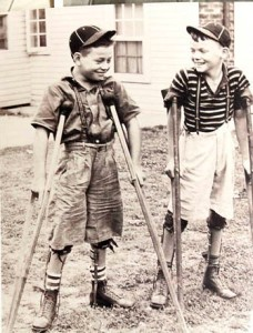 These two polio victims clearly don't suffer from Autism