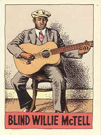 Blind Willie McTell by R Crumb.