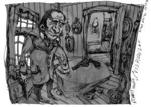 drawing by Yakov Petrovich Golyadkin
