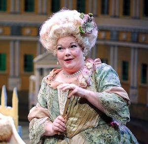 Kitty Balay as Mrs. Malaprop