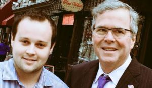 Josh Duggar and Jeb Bush