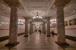 The ornate subways of St. Petersburg/Leningrad