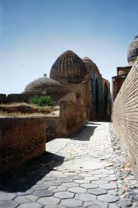 an alleyway in Bukkara 1989