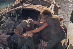 Sampan massacre scene from Apocalypse Now