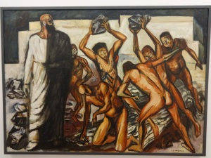 The Martyrdom of Saint Stephen, by José Clemente Orozco