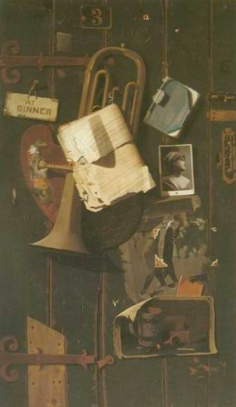 Ordinary Objects in the artist creative mind 1887 John Peto paintings