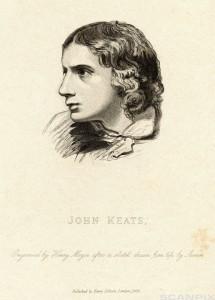 Portrait of English Poet John Keats