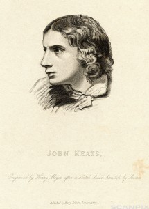 Portrait of English Poet John Keats