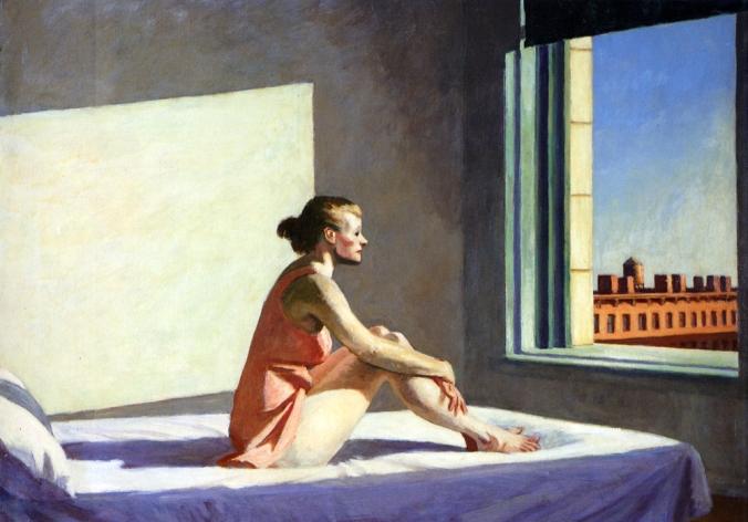 """Edward Hopper: """"Morning Sun"""""""
