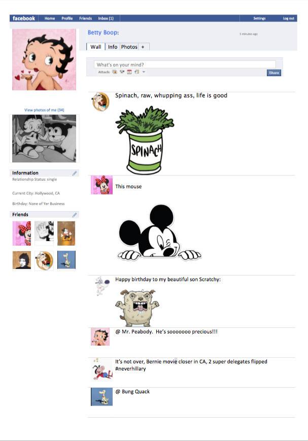 betty boop facebook