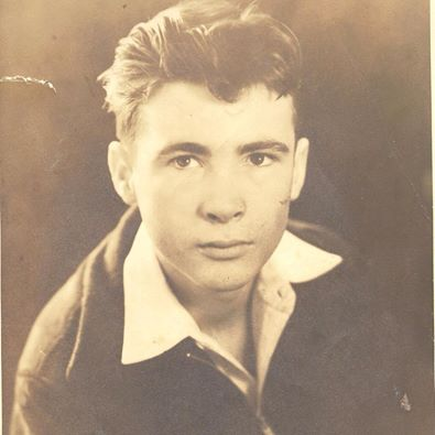My father in his Spring Street Days, aged 15