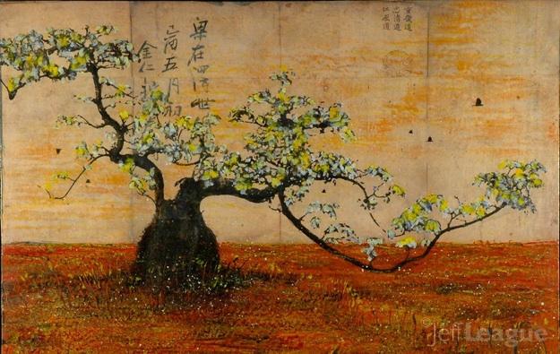 Jeff League: Bonsai Tree with Blossoms