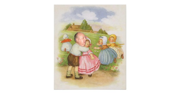 A Fractured Nursery Rhyme (or Georgie Porgie Meets Simple Simon Meets RogerAiles)