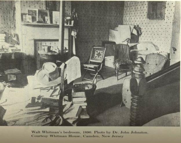 Whitman's bedroom