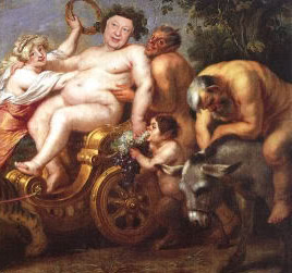 Roger Ailes as Bacchus