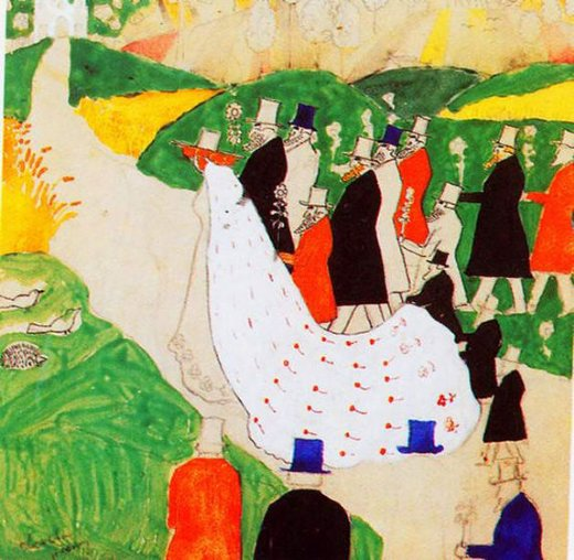 "Kashmir Malevich's ""The Wedding"""