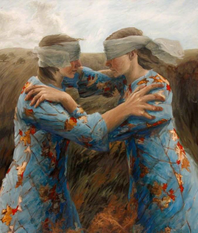 Snazell, Sarah; Doppelganger; Brecknock Museum and Art Gallery; http://www.artuk.org/artworks/doppelganger-178168