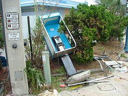 post Matthew damage on Daytona Beach