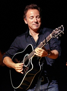 "** FILE ** In this Nov. 5, 2008 file photo, Bruce Springsteen plays his guitar in New York. On Wednesday, Feb. 4 , 2009 Springsteen said he was furious with Ticketmaster calling its selling practices a ""conflict of interest"" after complaints that the vendor was redirecting fans to a more expensive ticket seller owned by the company. (AP Photo/Stuart Ramson, file) NY128"
