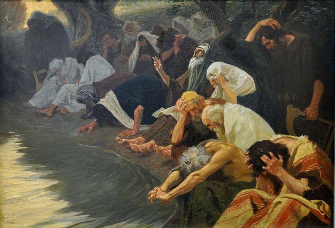 Gebhard Fuge: An den Wassern Babylons