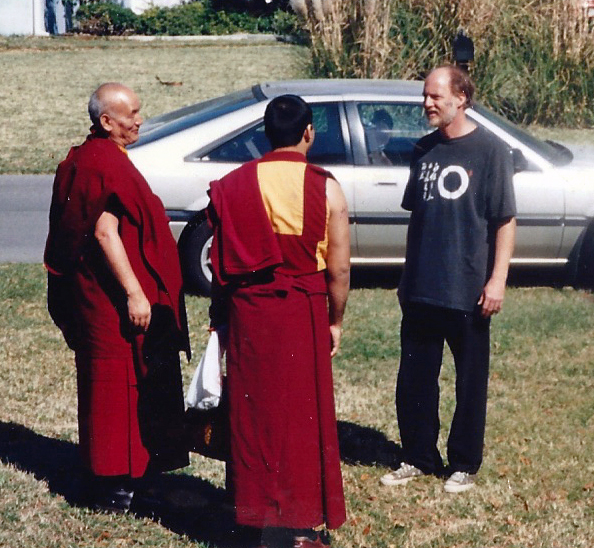 the blogger talking Dharma back in the day