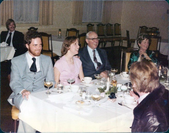 from left to right, I-and-I, Judy Birdsong, Ralph Birdsong, Dot Birdsong, and Jake Williams