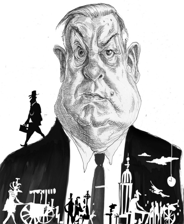 """illustration by David Rowe from """"Financial Review"""" website"""