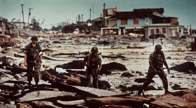 Folly after Hurricane Hugo