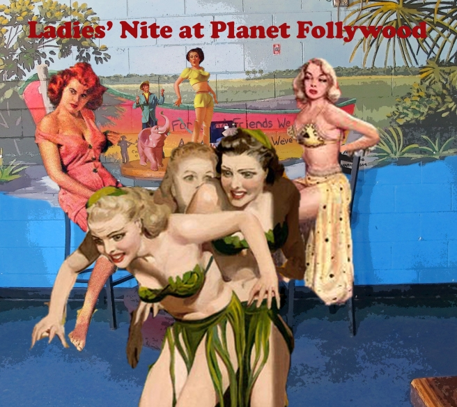 ladies' nite planet hollywood (original)