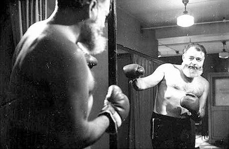 ernest-hemingway boxing