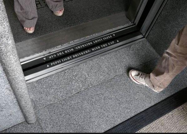 elevator gap
