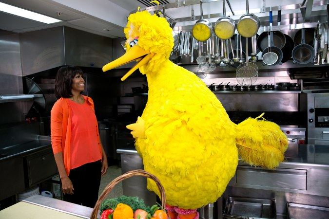2880px-Big_Bird_and_Michelle_Obama_(8555066920)